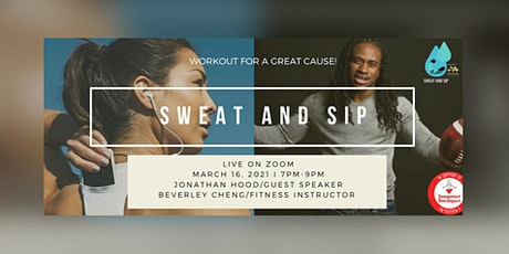 Sweat and Sip - Virtual Workout Event tickets