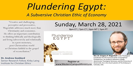 Plundering Egypt Book Discussion tickets