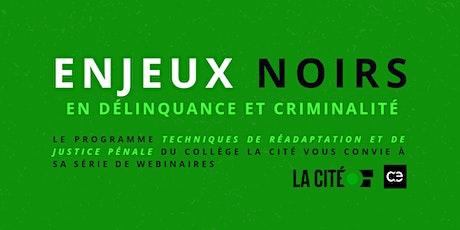 CRIMMIGRATION: À L'INTERSECTION DU CRIME ET DE L'IMMIGRATION billets