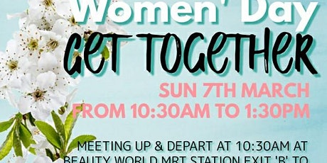 2021 International Women's Day Celebration Bukit Timah Nature Reserve Walk tickets