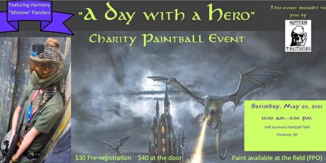 """A Day with a Hero"" Charity Paintball Event tickets"