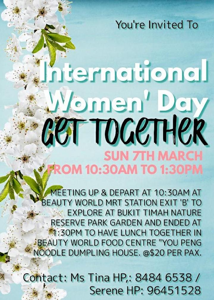 2021 International Women's Day Celebration Bukit Timah Nature Reserve Walk image