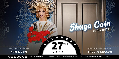 *Shuga Cain* from Drag Race at Troupe429 (SAT MAR 27/7PM) tickets