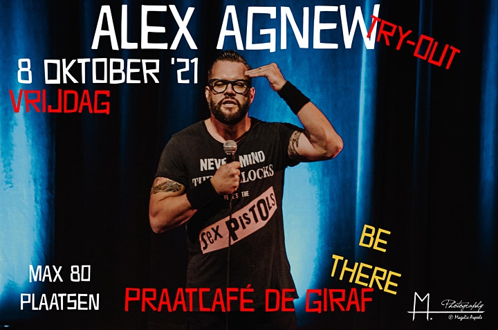 Afbeelding van An Evening With Alex Agnew @ De Giraf