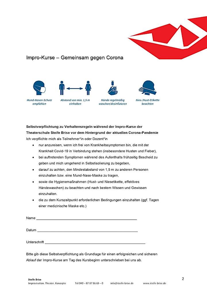 """""""Gib mir 10!"""" für  Fortgeschrittene / Theaterschule (Präsenz): Bild"""
