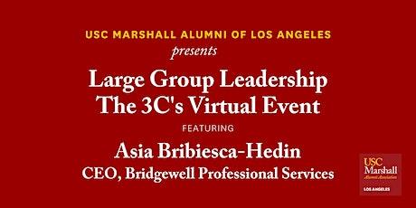 USC Marshall Alumni LA - Large Group Leadership: The 3Cs tickets