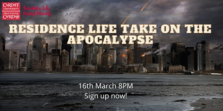 Residence Life Takes on the Apocalypse tickets