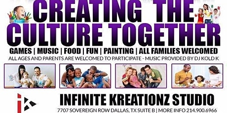 Creating The Culture Together Paint Splash tickets