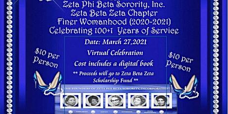 Zeta Phi Beta Sorority, Inc. Zeta Beta Zeta Chapter Finer Womanhood tickets