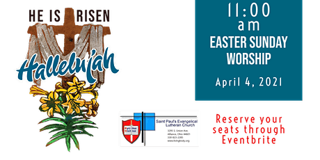 11 am Easter Sunday Worship tickets