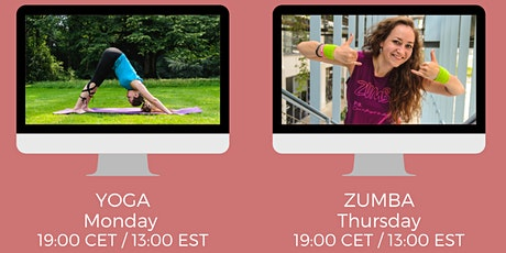 Drop-In Online Zumba Class with Giedre tickets