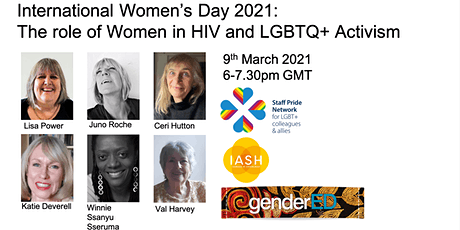 International Women's Day: The role of women in HIV and LGBTQ+ Activism tickets