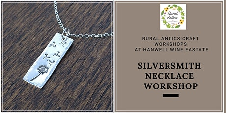 Silversmith Necklace Workshop tickets