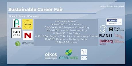 Sustainable Career Fair tickets