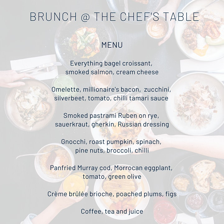 Chef's Table Brunch image