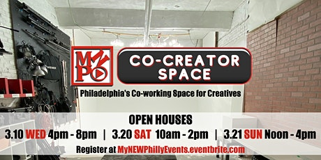 MARCH OPEN HOUSE: MyNEWPhilly's Co-Creator Space tickets