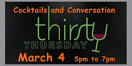 Last Minute ~ Thirsty Thursday Happy Hour ~ Zoom tickets