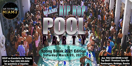 Miami HIP HOP POOL PARTY  + Photo / Video Shoot - All Inclusive tickets