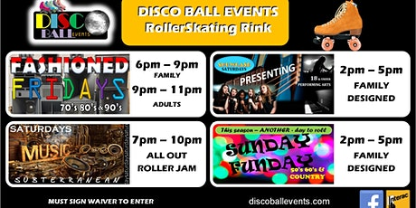 DISCO BALL EVENTS - Every Weekend tickets