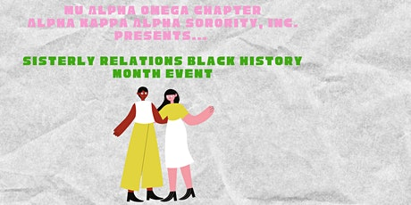 MAO Sisterly Relations Black History Event (Members Only) tickets