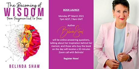 Virtual Book Launch - Belinda Shaw - The Becoming of Wisdom tickets