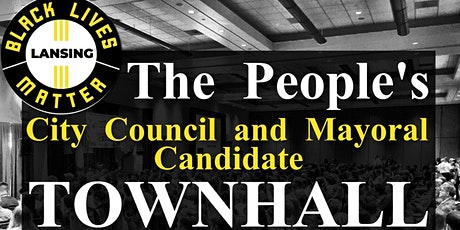 BLM People's City Council and Mayoral Town Hall tickets