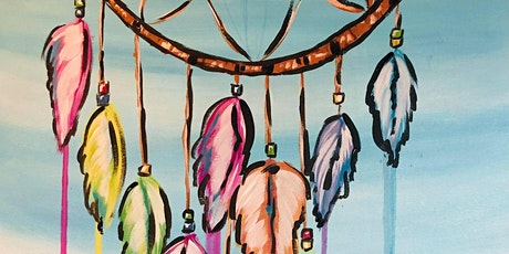 Paint Night in Rockland - Dream Catcher at G.A.B.'s billets