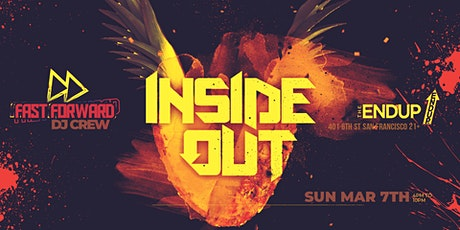 Fast Forward DJ Crew Presents Inside Out Distanced Dining tickets