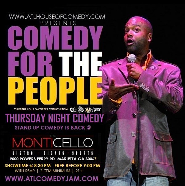Comedy for the People @ Monticello image
