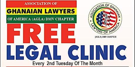 AGLA DMV Free Legal Clinic tickets