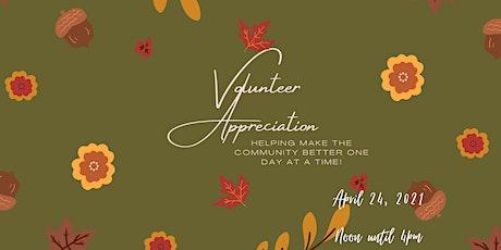 Volunteer Appreciation Picnic tickets