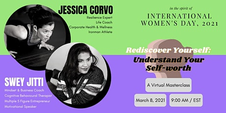 MASTERCLASS - Rediscover Yourself: Understanding Your Self-Worth tickets