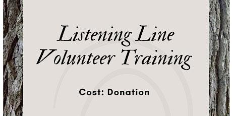 Listening Line Volunteer Training tickets