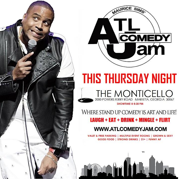 ATL Comedy Jam @ Monticello Edition image