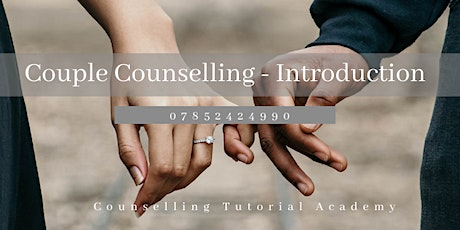 Couple Counselling: Introducing Practical Tools tickets