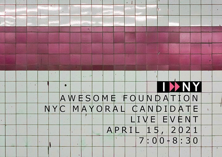 AwesomeNYC Live Pitch Night! with Mayoral Candidates image