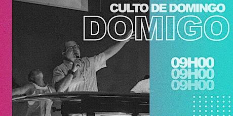 Culto Presencial de Domingo – 07/03 ingressos