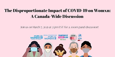 The Disproportionate Impact of COVID-19 on Womxn: A Canada-Wide Discussion tickets