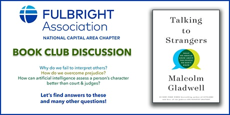 "Book Club Discussion ""Talking to Strangers"" by Gladwell Malcolm tickets"