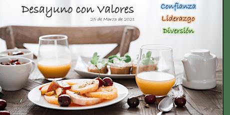 JORNADA DE LIDERAZGO POR VALORES CON DESAYUNO entradas