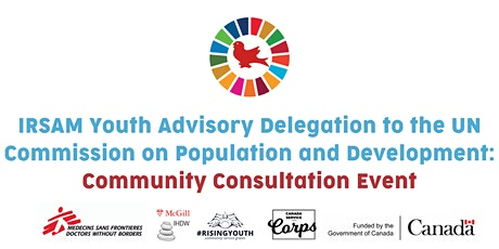 IYAD Community Consultation Event for CPD54 tickets
