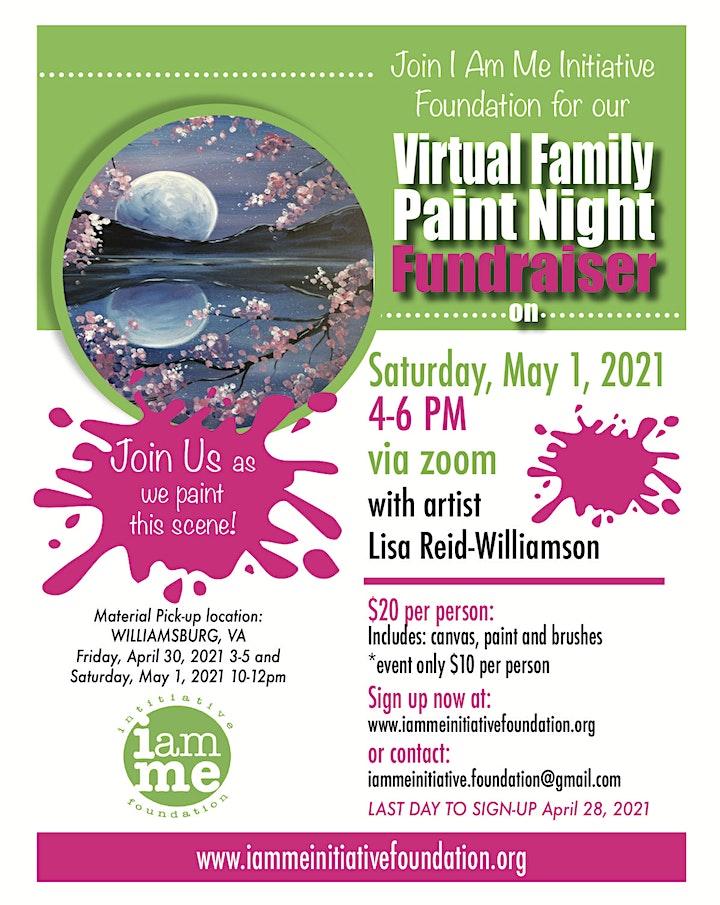 Spring Virtual Family Paint Night image