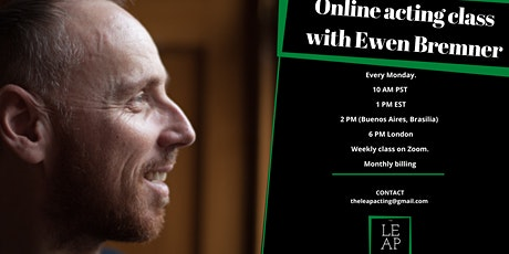 Character and Self - Online acting class with Ewen Bremner tickets