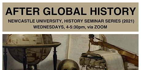 Dr John Lee, Durham University - After Global History seminar series tickets