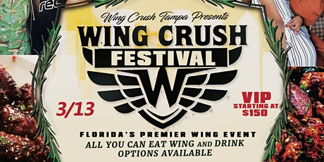Wing Crush Wing Festival & Day Party tickets