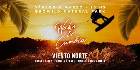 Wake & Cumbia - Viento Norte en vivo entradas