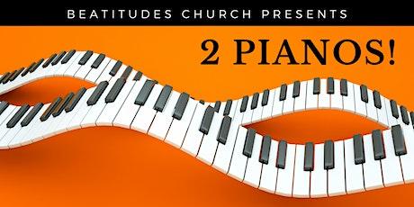 2 Pianos! tickets