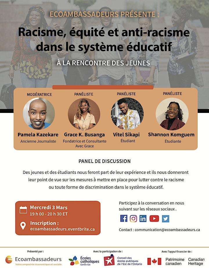 Racisme, équité et anti-racisme dans le système éducatif image