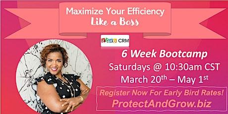 Increase Efficiency & Results, Zo-Ho With Daris Bootcamp tickets
