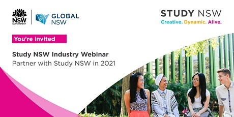 Study NSW Industry Webinar - Partner with Study NSW in 2021 tickets